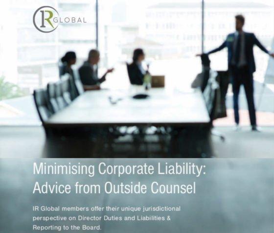 minimising IR Global